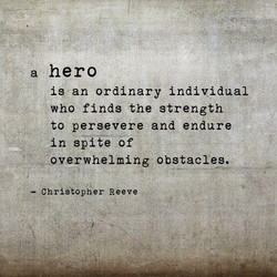a hero 