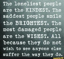 The loneliest people 