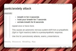 panic/anxiety attack 