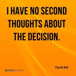 I HAVE NO SECOND 