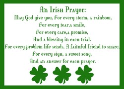 An IriSH Prayer: 