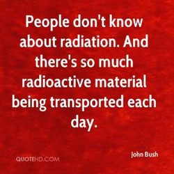 People don't know 
