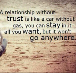 A relationship without— 