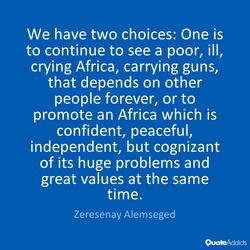We have two choices: One is 