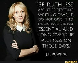 BE RUTHLESS 