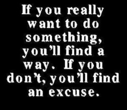 If you really 