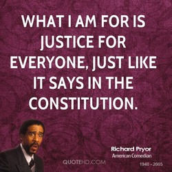 WHAT I AM FOR IS 