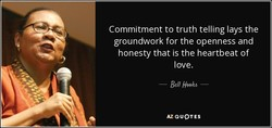 Commitment to truth telling lays the 