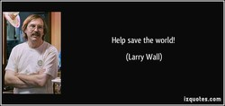 Help save the world! 