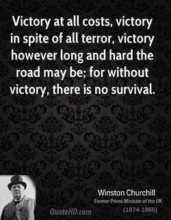 Victory at all costs, victory 