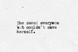 Sle saved everyone 