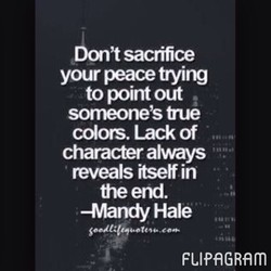 at sacrifice 