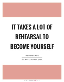 IT TAKES A LOT OF 