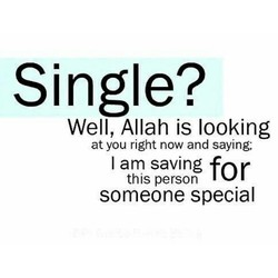 Single? 