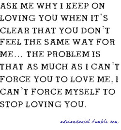 ASK ME WHY 1 KEEP ON 