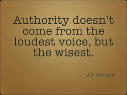 Authority doesn't 