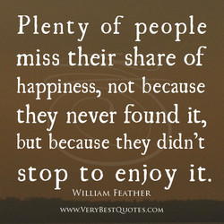 Plenty of people 