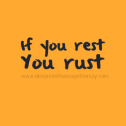 If You rest 