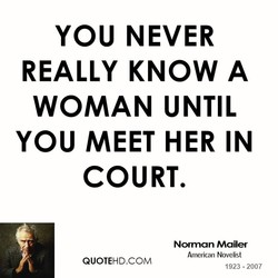YOU NEVER 