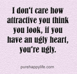I don't care how 