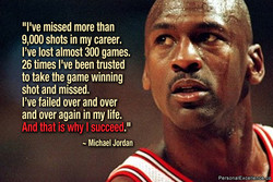 9,000 shots in my career. 