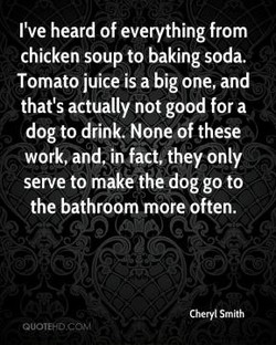 I've heard of everything from 