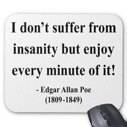 I don't suffer from 