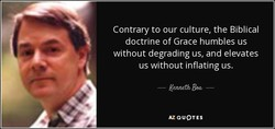 Contrary to our culture, the Biblical 