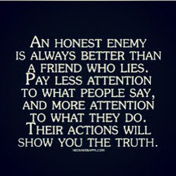AN HONEST ENEMY 