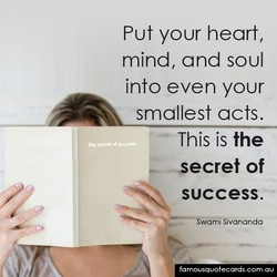 Put your heart, 