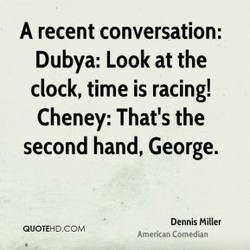 A recent conversation: 
