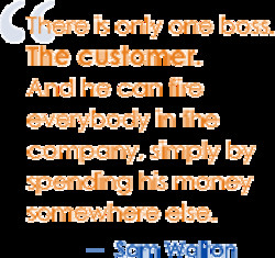 There is only one boss. 
