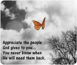 Appreciate the people 