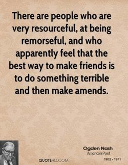There are people who are 