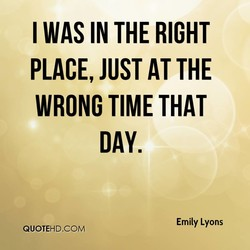 I WAS IN THE RIGHT 