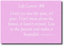 Life Lesson: #8 