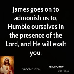 James goes on to 