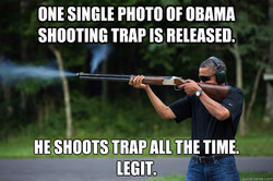 ONE SINGLE PHOTO OF OBAMA 