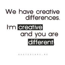 We have creative 