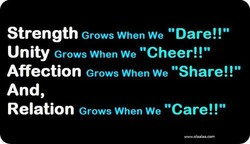 Grows When we