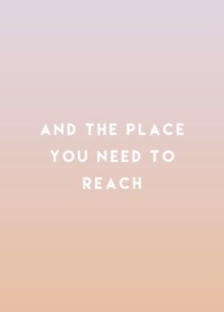 AND THE PLACE 
