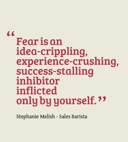 Fear is an 