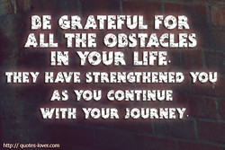 DE GRATEFUL FOR 