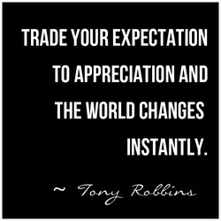 TRADE YOUR EXPECTATION 