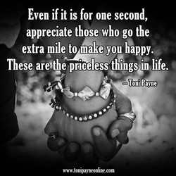 Even if it is for one second, 