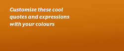 Customize these cool 