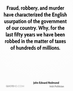 Fraud, robbery, and murder 