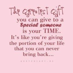 you can give to a 