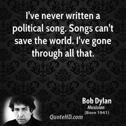 I've never written a 