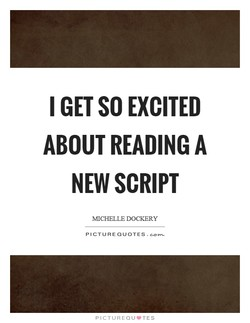 I GET SO EXCITED 